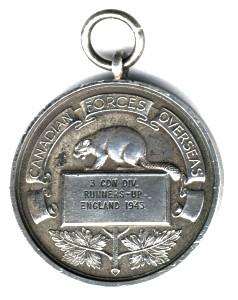 Tony's Competition Medal front