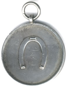 Tony's Competition Medal back