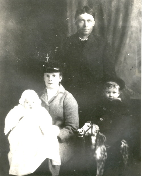 Samuel with Ruth and Children