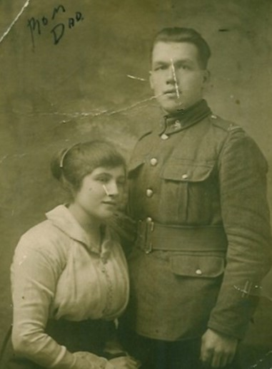 Enos and Lily after their marriage