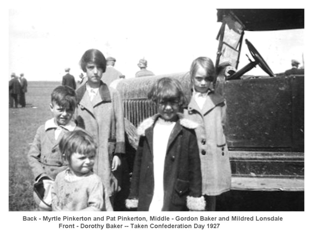 Gordon, Dorothy and Cousins